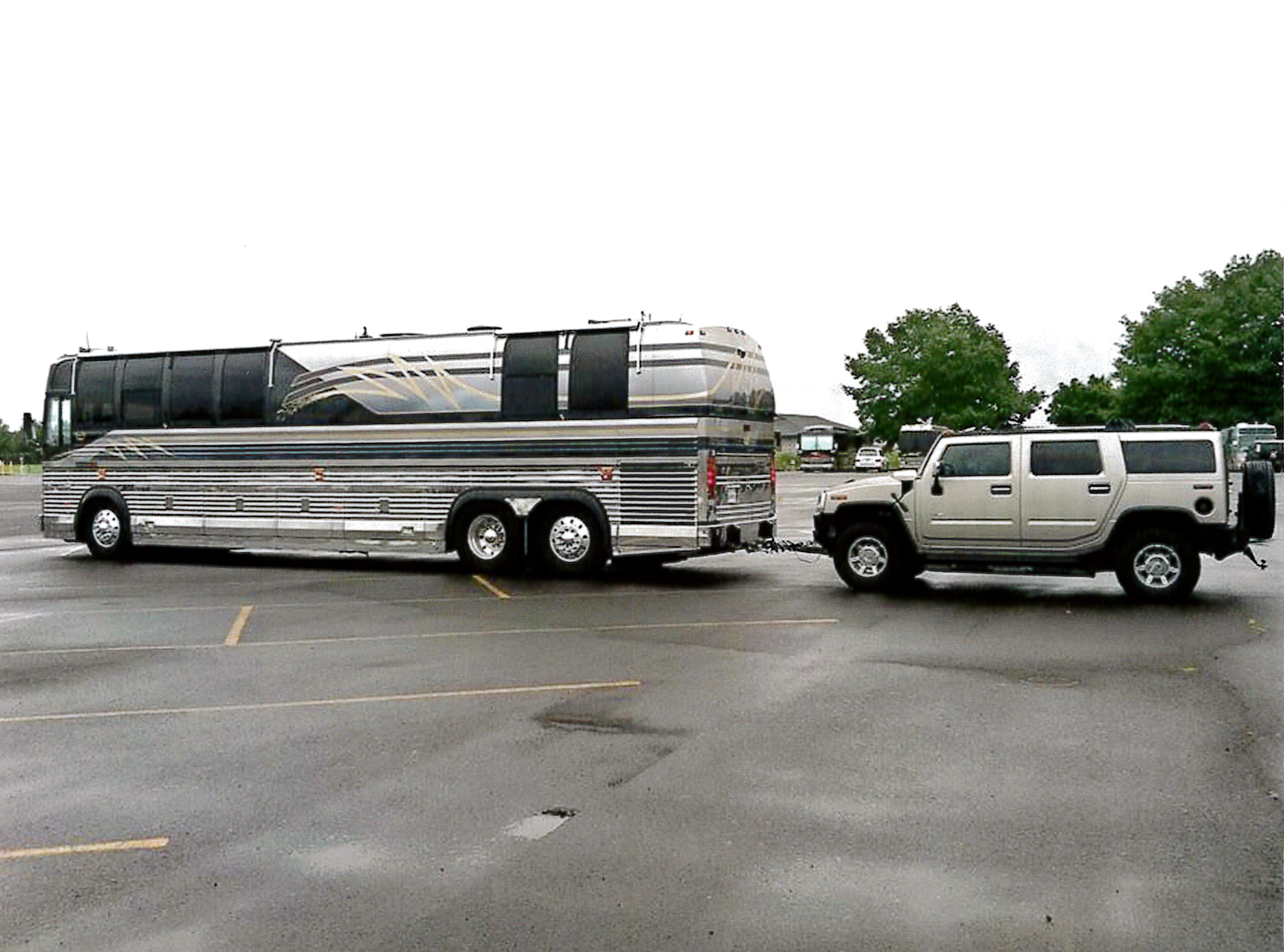 The Exterior Affordable Prevost For Sale